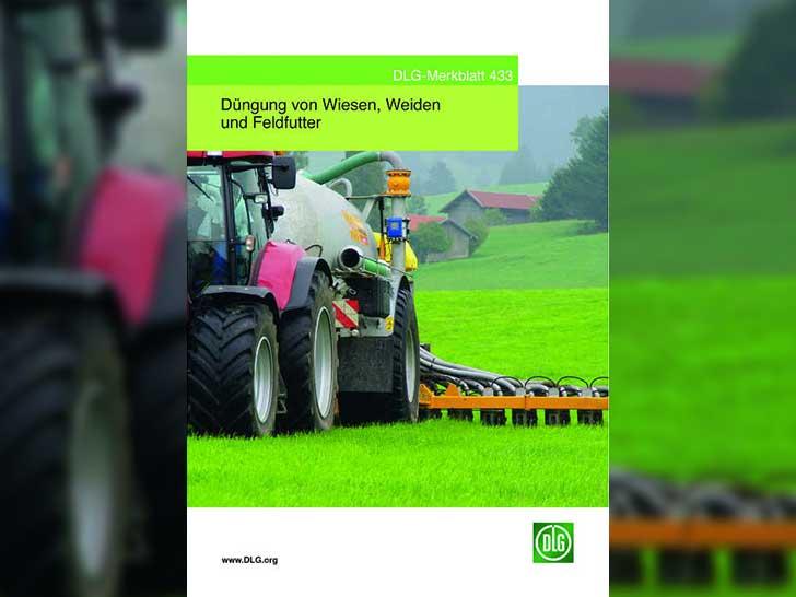 Neues DLG-Merkblatt: Düngung von Wiesen, Weiden und Feldfutter