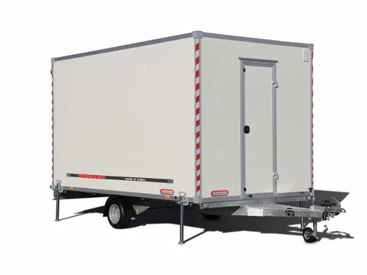 BAUWAGEN - der mobile Aufenthaltsraum für Baustellen