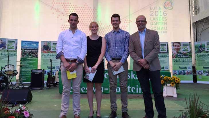 Grün hat Zukunft - 36 neue Baumschulgärtner/innen
