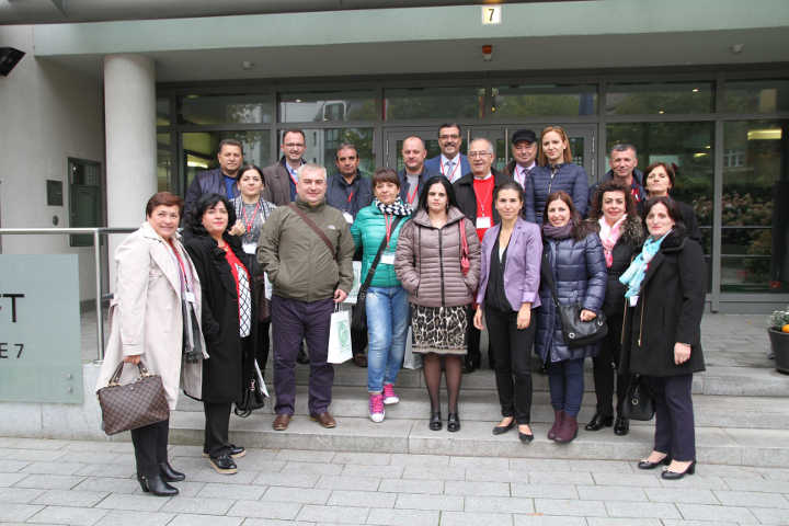 albanische Delegation in Berlin