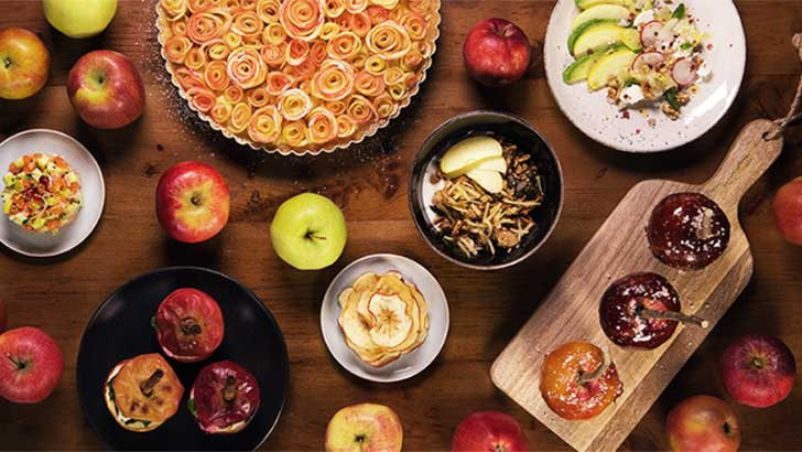 Apfelgerichte