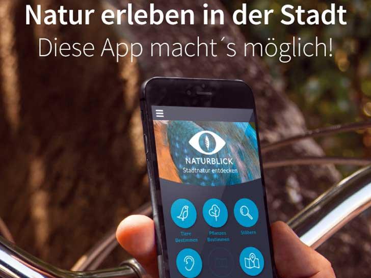 Handy-App, Natur dran