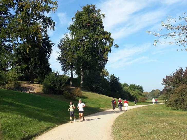 Parks und Gemeinschaftsgärten