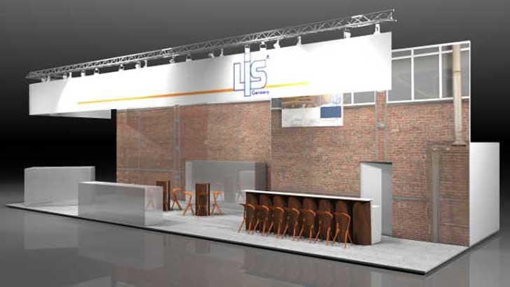Standdesign von LIS