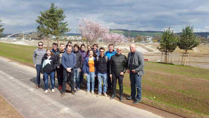 Landschaftsarchitekturstudenten