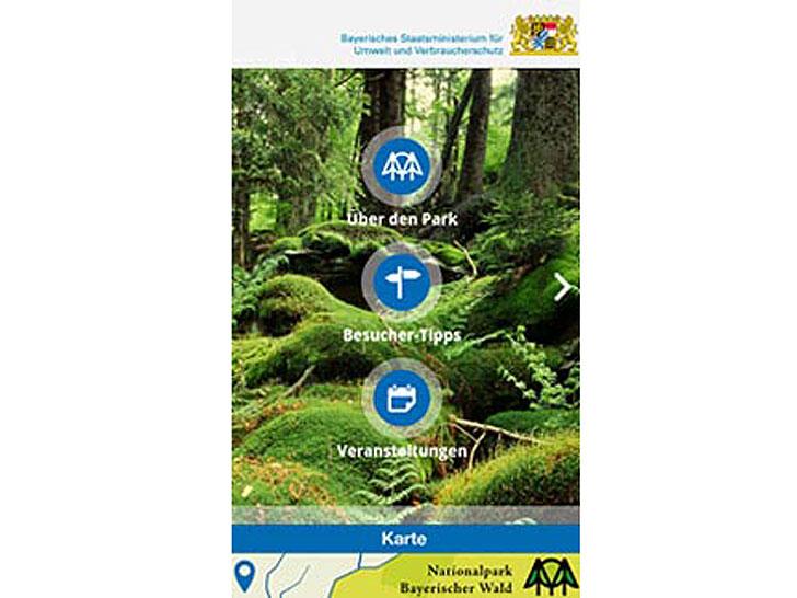 App Nationalpark Bayerischer Wald