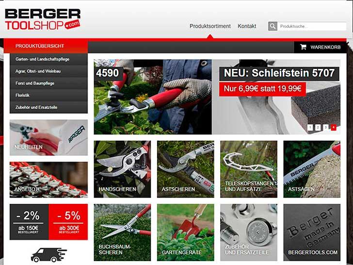 Berger-Toolshop-Werkzeuge