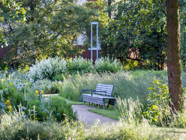 Grünflächenversorgung in der Stadt