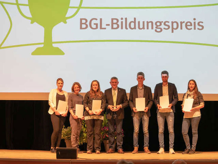 Gewinner des BGL-Bildungspreises