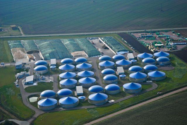 Biomethan-Raffinerie