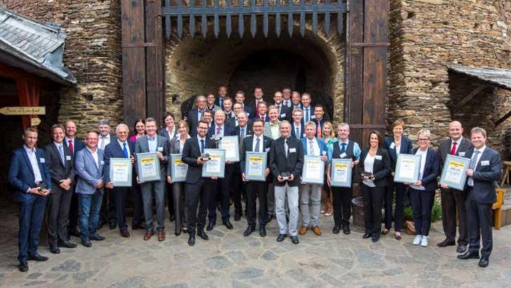 Bomag Lieferanten-Award: Beste Zulieferer ausgezeichnet