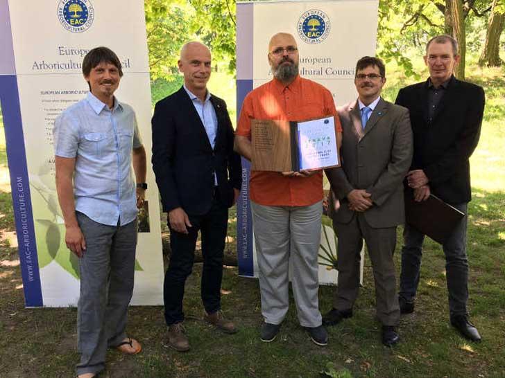 Preisverleihung des ECOT Award