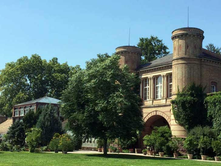Schlossgarten von Bruchsal