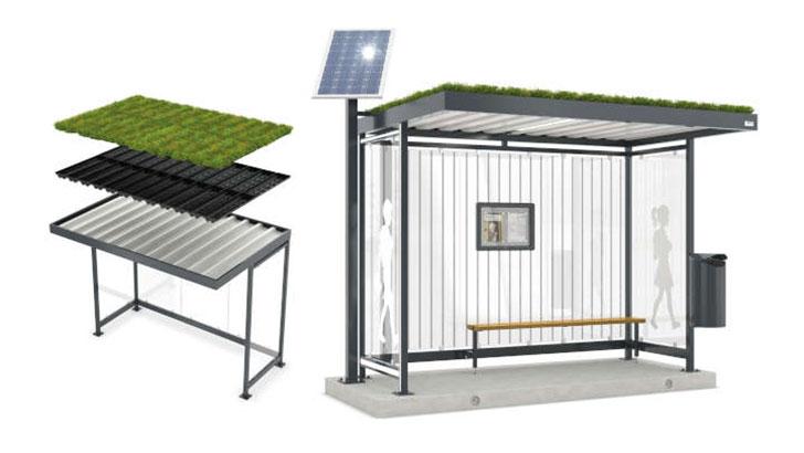 Aus der Gärtnerei aufs Dach: Klimaschutz dank lebender Pflanzen
