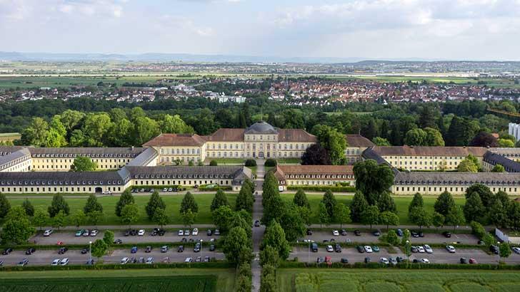 Campus der Universität Hohenheim