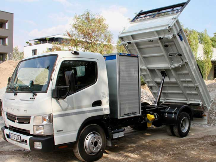 Fuso Canter Kipper