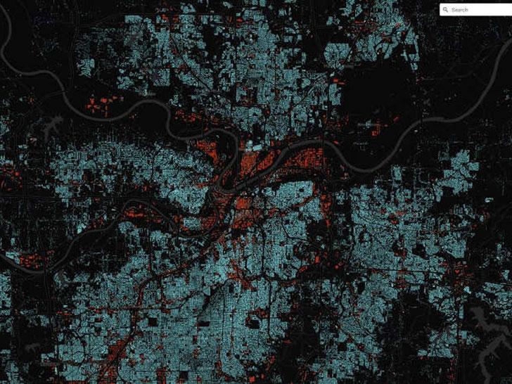 Visualisierung von Kansas City