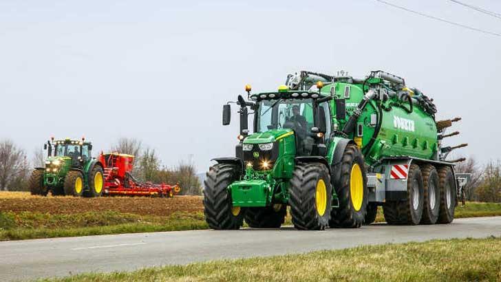 landwirtschaftlichen Traktoren