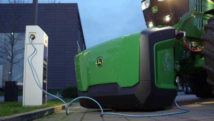 Battery Boost Traktor