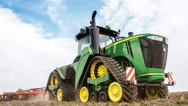 9620 RX bei der Feldbearbeitung