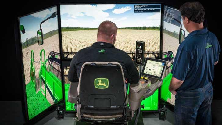 Mähdrescher-Simulator