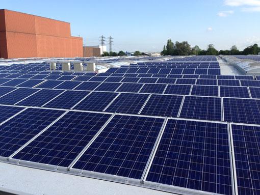 Deere-Photovoltaik-Anlage