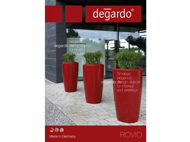 Degardo-Pflanzgefässe