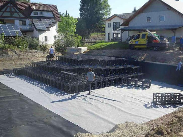Unterirdisch gute Lösung für die Entwässerung