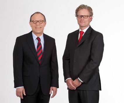 Harry Niehuus und Hendrik Peters