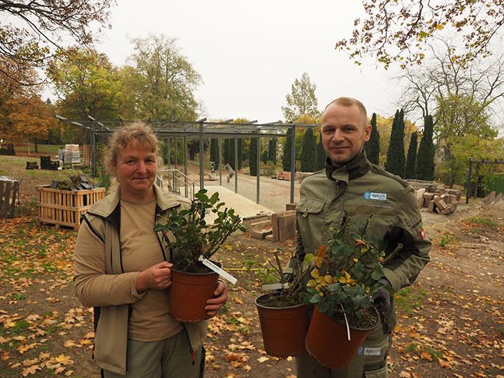 Yvonne Udhardt und Markus Lehmann