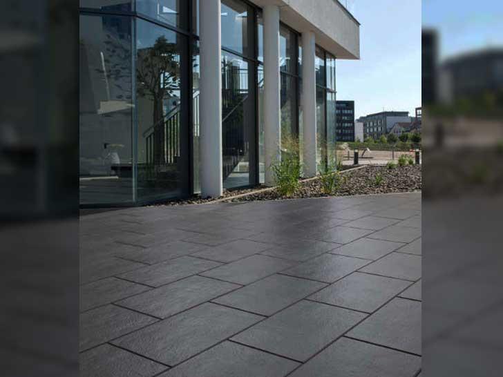 Terrassenplatte Farini Von Kann Fur Hochwertigen Gestaltungsanspruch