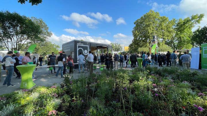 Sommerfest der Grünen Verbände auf der Bundesgartenschau in Erfurt