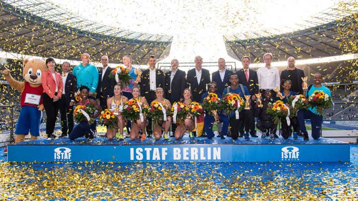 im Olympiastadion Berlin