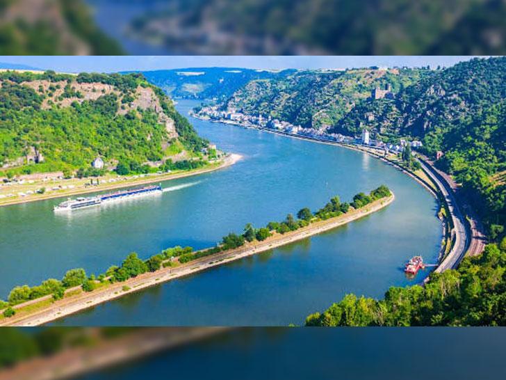Rhein-Landschaft