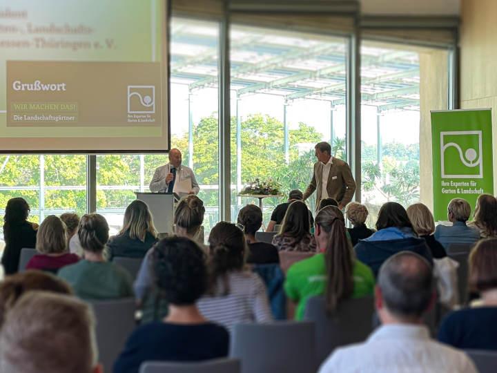 GaLaBau-Forum Thüringen im Danakil auf der BUGA