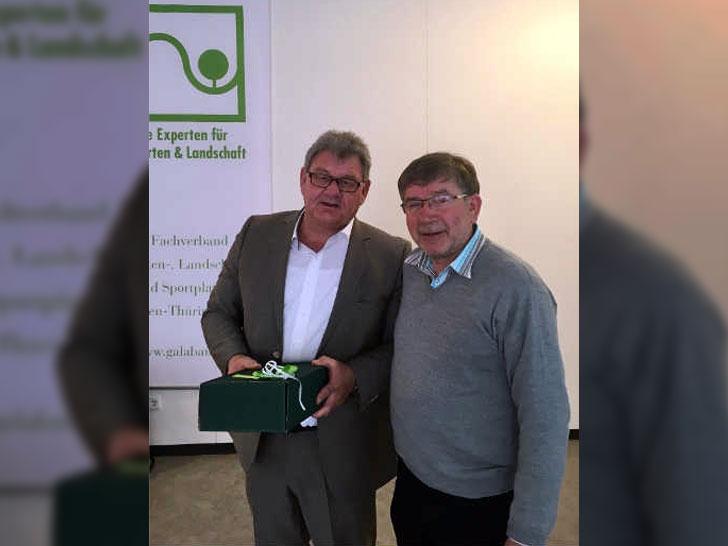 Cölestin Huhn und Uwe Frankenberger