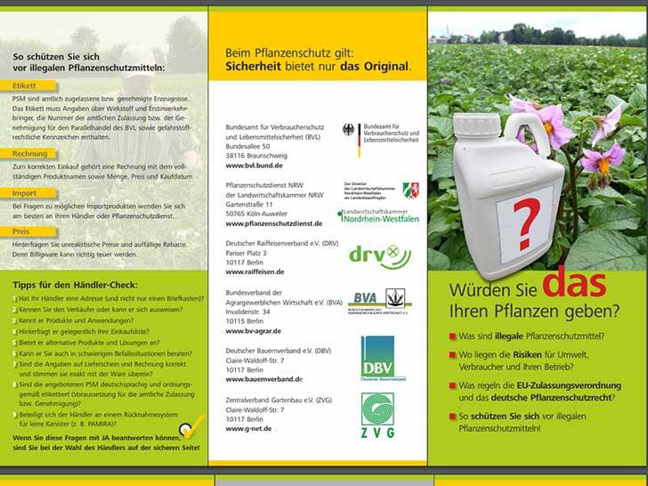 Pflanzenschutzmittel ohne Zulassung