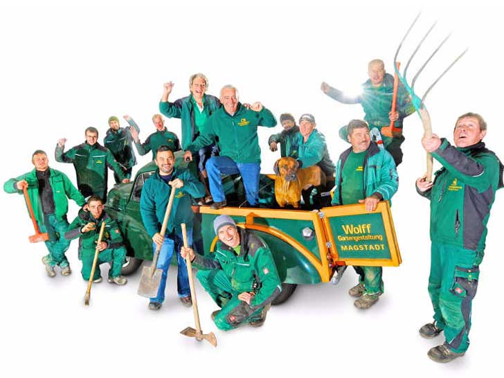 Wolff Gartengestaltung GmbH feiert 25-jähriges Jubiläum