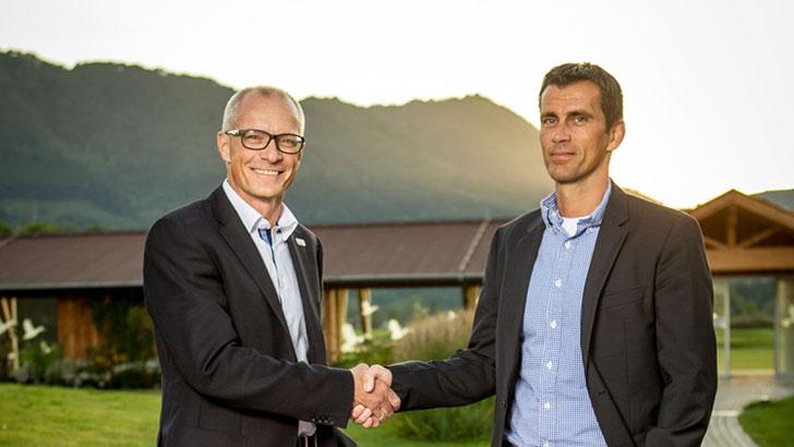 Marcus Neumann und Dirk Degenhardt