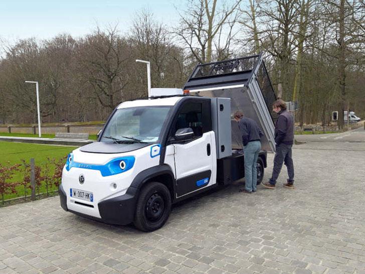 Elektro-Transporter