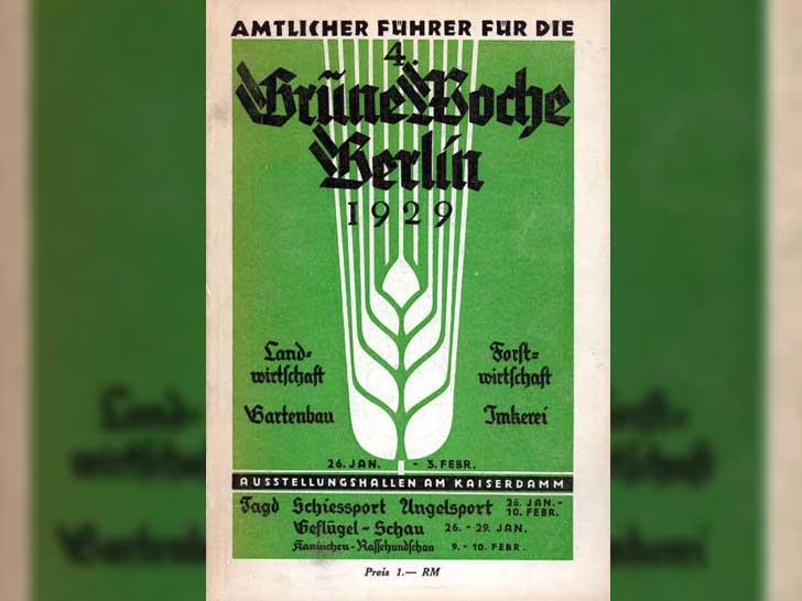 Katalogtitel der 4. Grünen Woche