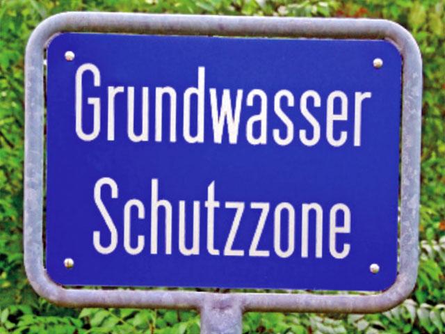 Grundwasserschutzgebiet