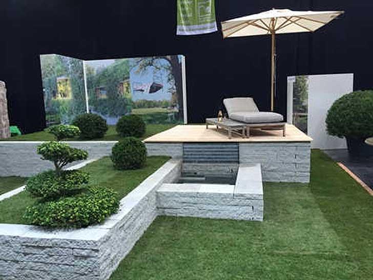 augsburger immobilientage präsentierten kreative gartengestaltungen, Garten ideen