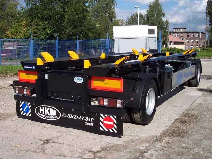 Behälter-Transport-Anhänger
