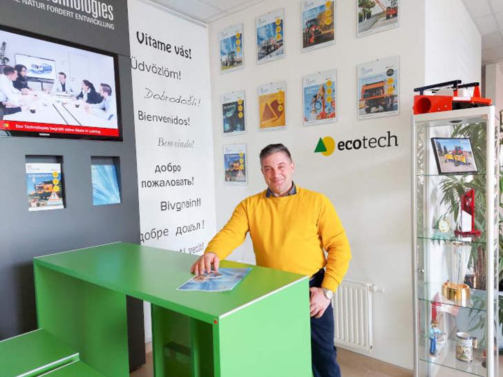 Neuer Außendienstmitarbeiter – Eco Technologies begrüßt Hubert Weber