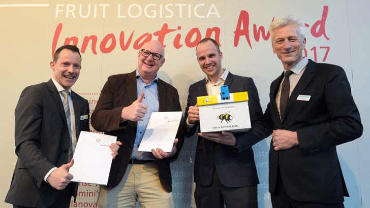 Gewinner des dritten Platzes des FRUIT LOGISTICA Innovation Award 2017