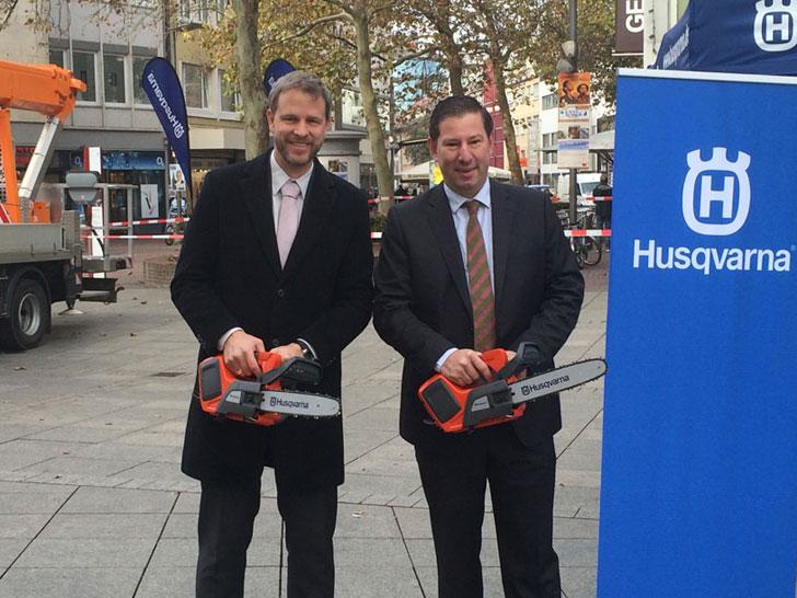 Husqvarna-Baumpflege-Partnerschaft