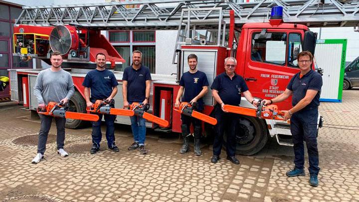 Husqvarna-Feuerwehr Ahrweiler