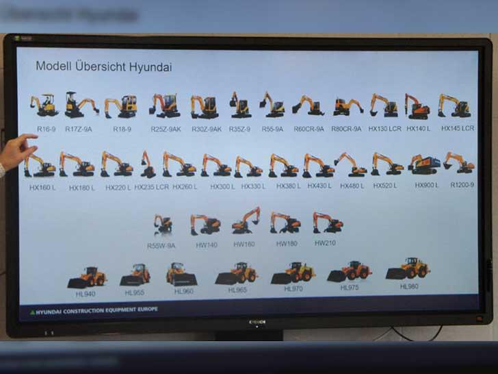 Hyundai-Baumaschinen
