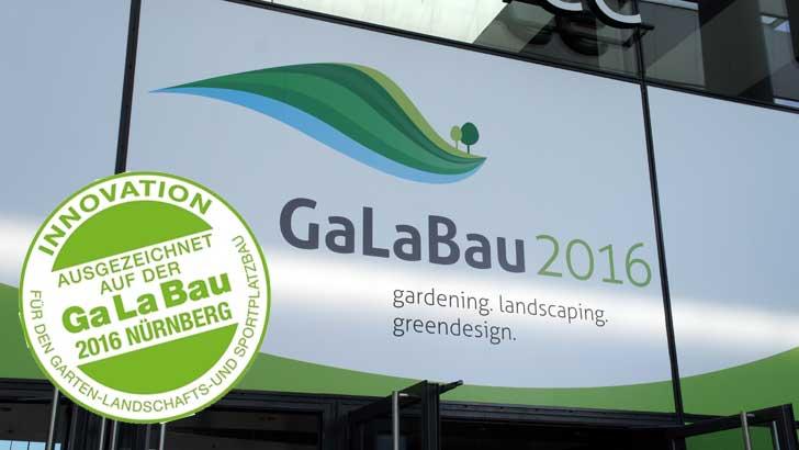 GaLaBau 2016, Innovationsmedaille